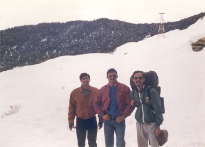 Friends went skiing from the top of the hill on your right and raced down the hill on your left. Perhaps the seven most enjoyable days of my life. We went in February 1995 and the Mumbai Group continues to be in touch, meet as if we went skiing only yesterday