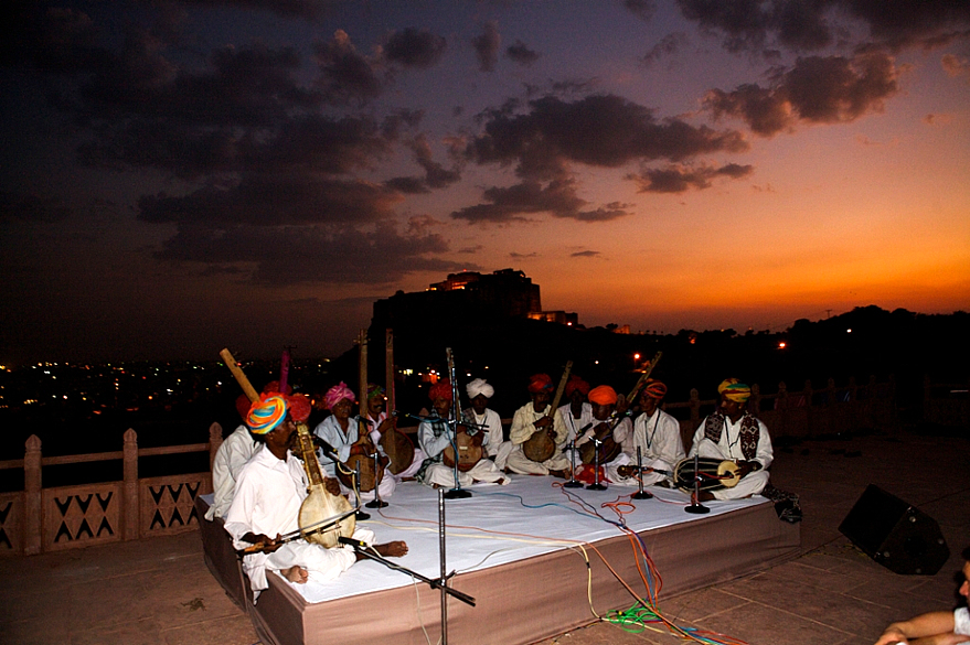 Nirguna Bhajan Sanhya at Jaswant Thada 2nd Oct_RIFF 09