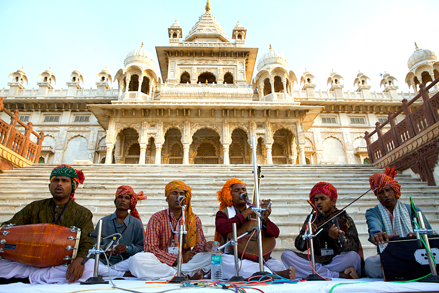 Prahlad Tipanya at Jaswant Thada - Dawn 4th Oct_RIFF 09