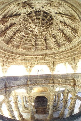 You see 'Megh Mandap'. It is 50 fet high dome with beautiful sculpture.