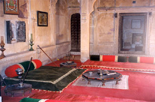 A room in the Haveli