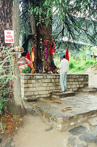 Ghatotkach Temple in Manali – son of Bhima.