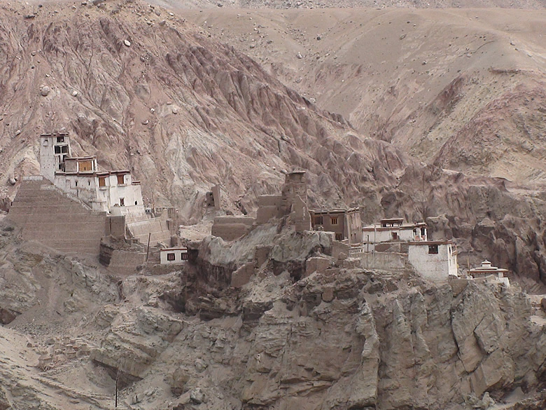 The BASGO CASTLE - the one time capital of Leh