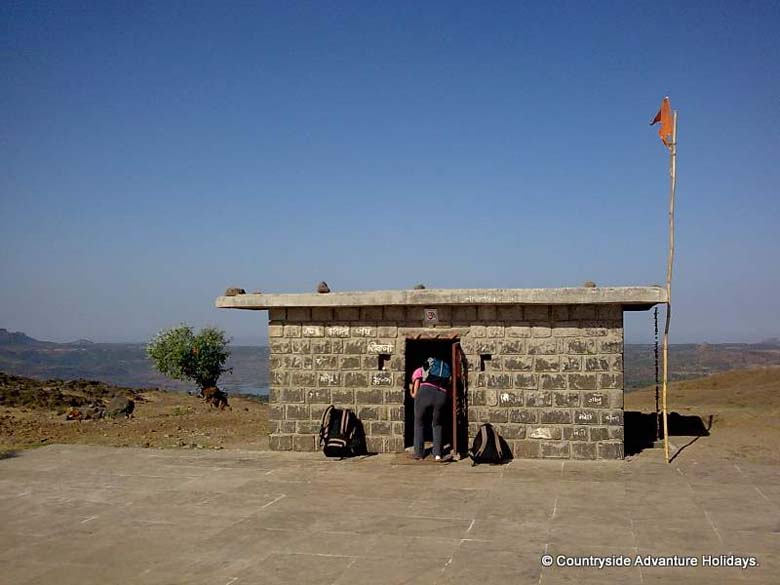 Shiva``s temple inside the fort.