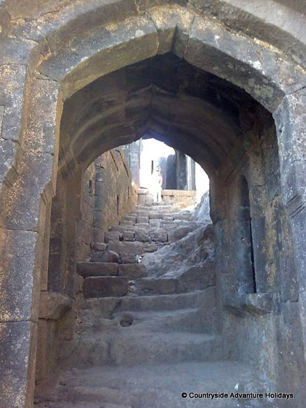 Second Gate. In Pratapgarh Fort there were three gates so also in a fort in Sangla Valley Himachal Pradesh.