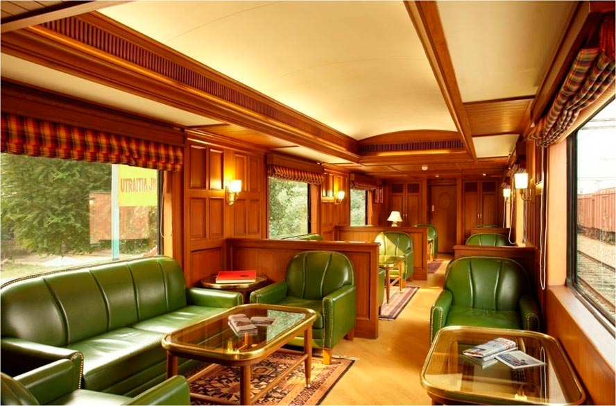 The Rajah Club Lounge - Maharajas`` Express.