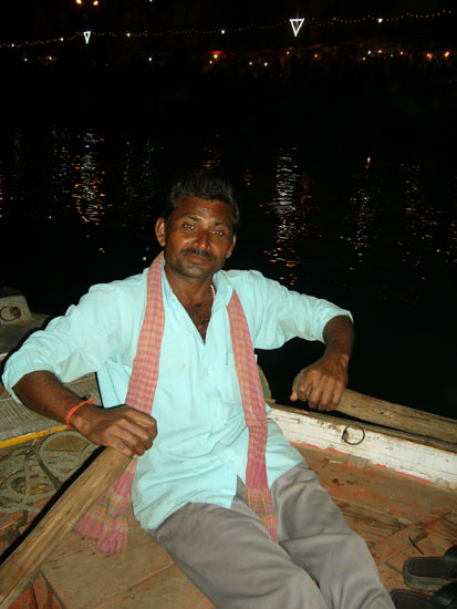You see our boatmen. He was a very knowledgeable person and knew the Ramayana at the back of his hand. Listening to him we realized that he had very high values by which he lived his life yet for most he was uneducated.