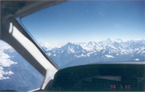 A view from the Cockpit