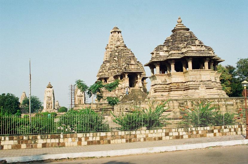 Khajuraho Temple Western Photo Gallery, Photos of Khajuraho