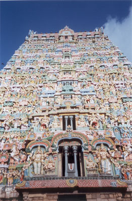 Another view of the gopuram.