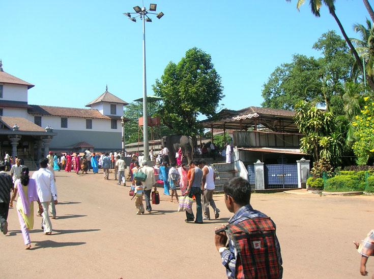 Dharamasthala complex Majunatha