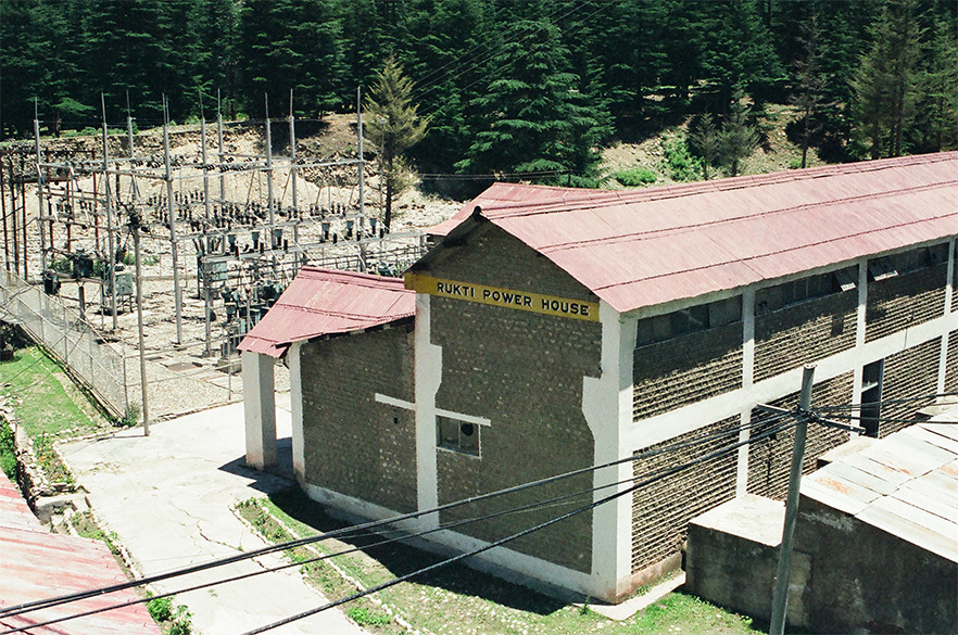 This Mini-Power plant meets the electricity requirements of Sangla Valley.