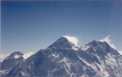 Mount Everest in all its majesty