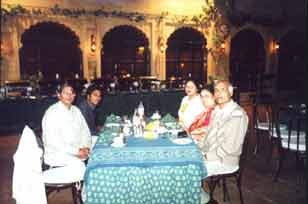 Dinner at The Lake Palace Hotel