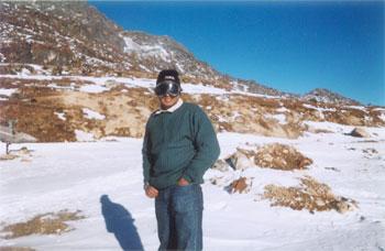 At Sela Pass