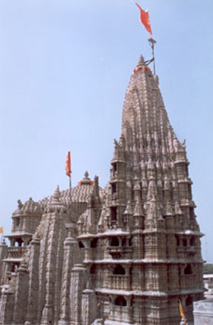 Another view of the temple. Jai Shri Krishna