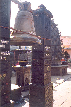There is a huge Ghanta (bell) i.e. outside the temple, about 250 years old.