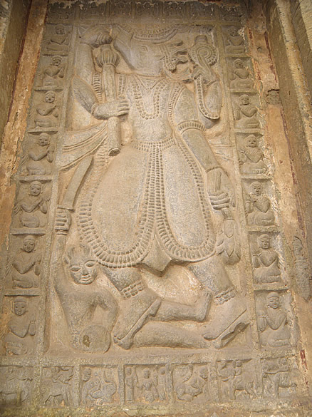 You see the Varaha avatar of Lord Vishnu.