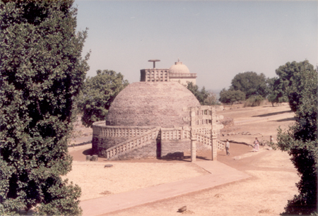 The history of Sanchi goes back as early as 3rd century B.C. when Buddha Dharma was at its peak during the reign of Emperor Asoka. Sanchi has the singular distinction of having almost all kinds of Buddhist architectural forms, Stupas, Chaityas, Temples &