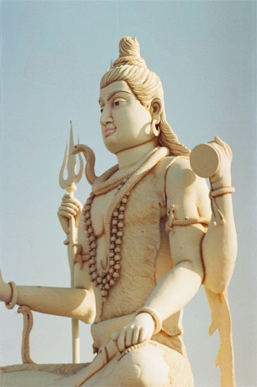 Next are four pictures from different angles of Lord Shiva. A closer look.