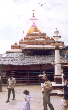 Famous Mahalaxmi Temple dedicated to the goddess of wealth