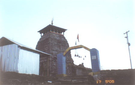 Tungnath temple is at an altitude of 3,680mt is the highest Shiva shrine among the Panch Kedars. The easiest to reach is from Chopta 6kms away.