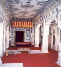 Queen room in the fort