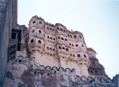 Mehrangana Fort built by Rao Jodha in 1459, it houses some of the most intricately adorned palaces such as Moti Mahal