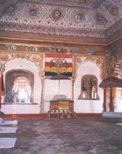 Dance room in the fort