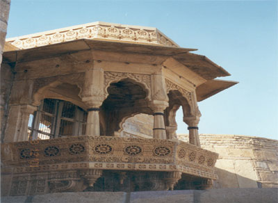 Jharokha on the fort