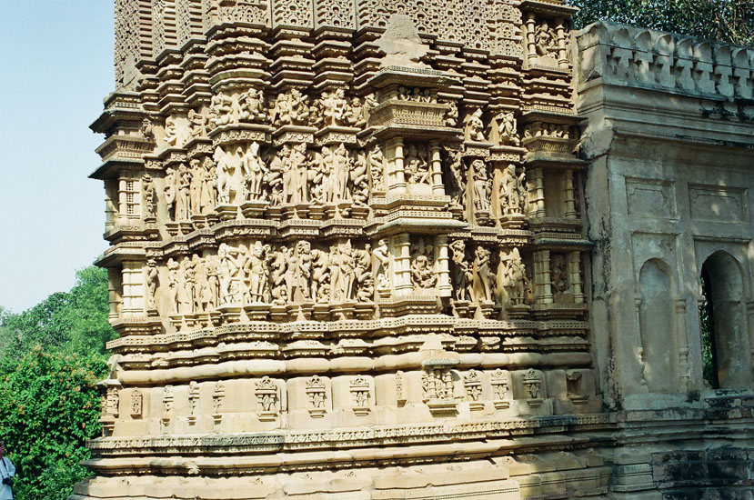 Sculptures Adinath temple.