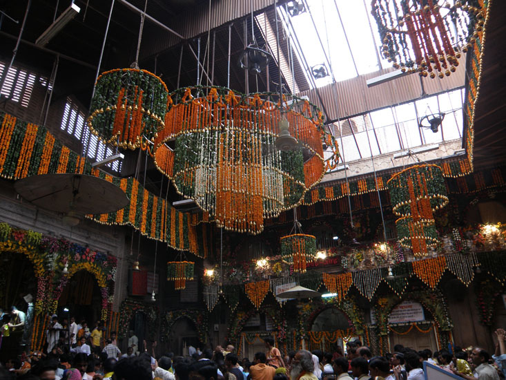 1st visit was to Bankey Bihari Temple. It is beautifully decorated on the occasion of Janmashtami.